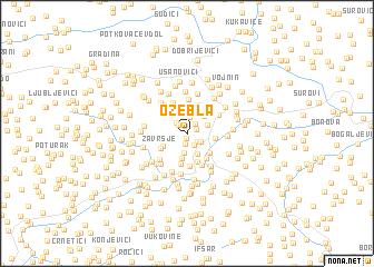 map of Ozebla