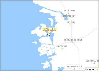 map of Ozello