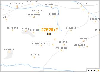map of Ozërnyy