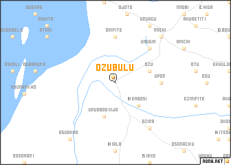 map of Ozubulu