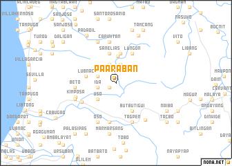 map of Paaraban