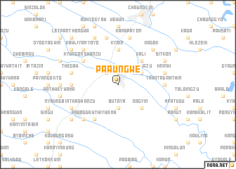 map of Pa-aungwè