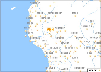 map of Pa-a