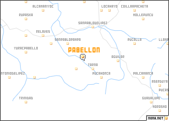 map of Pabellón