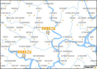 map of Pabēzu