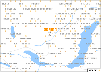 map of Pabing