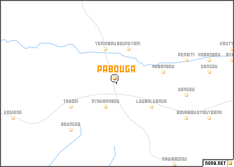 map of Pabouga