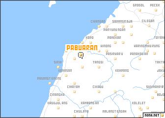 map of Pabuaran