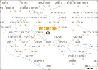map of Paciepniki