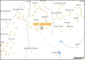 map of Pacobamba