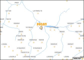 map of Padan