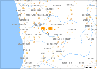 map of Padaoil