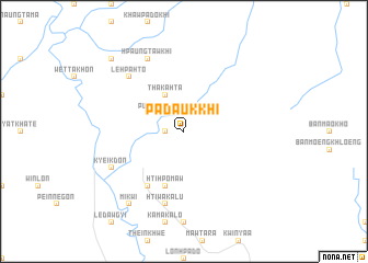 map of Padaukkhi