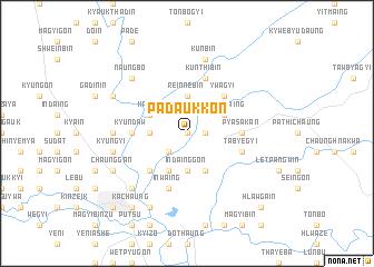 map of Padaukkon