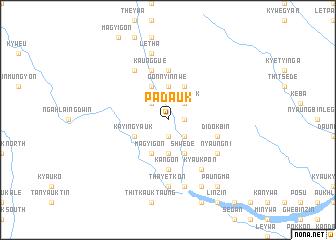 map of Padauk