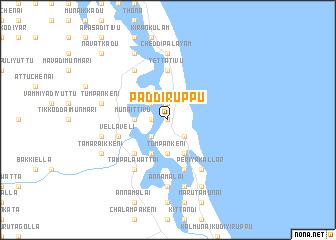 map of Paddiruppu