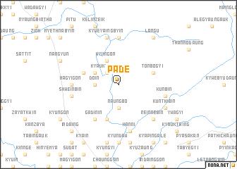 map of Pade