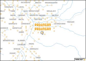 map of Padungan