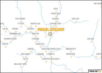map of Pagalunggan