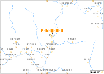 map of Pagawahan