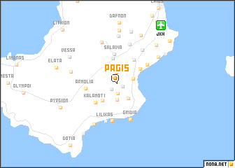 map of Pagís