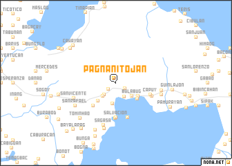 map of Pagnanitojan