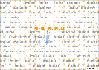 map of Pahala Pidivilla