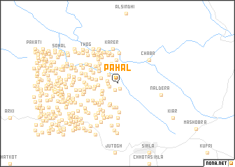 map of Pāhal