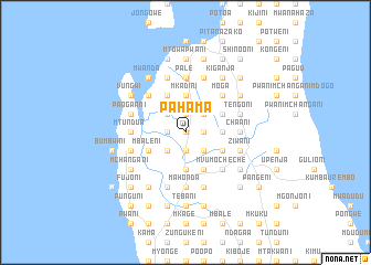 map of Pahama