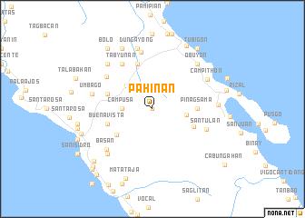 map of Pahinan