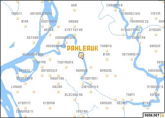 map of Pahle Auk
