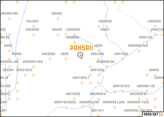 map of Pahsak