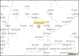 map of Pahsak