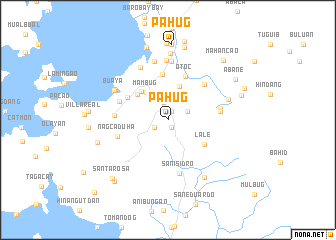 map of Pahug