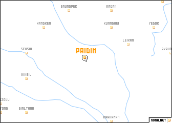 map of Paidim