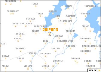 map of Paifang