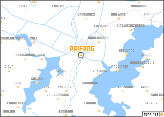 map of Paifang