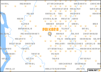 map of Pāikara