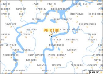 map of Paiktan