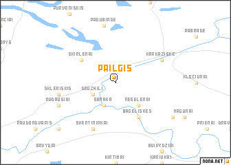 map of Pailgis