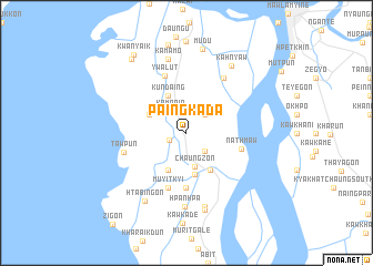 map of Paingkada