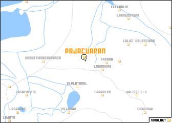 Pajacuarán Mexico Map Nonanet - Michoacan mexico map