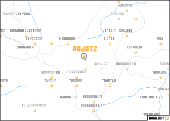 map of Pajatz