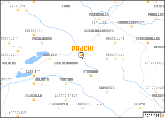 map of Pajchi