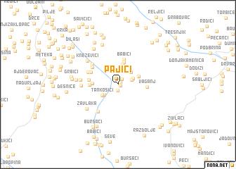 map of Pajići