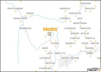 map of Pakang