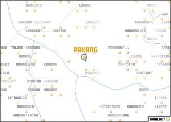 map of Pa-kang