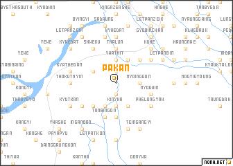 map of Pakan