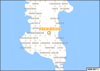 map of Pakhiánika