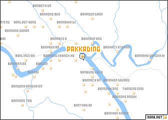 map of Pakkading